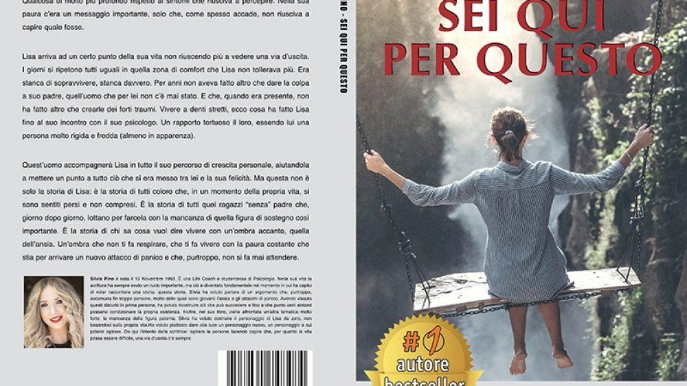 """Silvia Pino: Bestseller """"Sei Qui Per Questo"""" edito da Bruno Editore"""