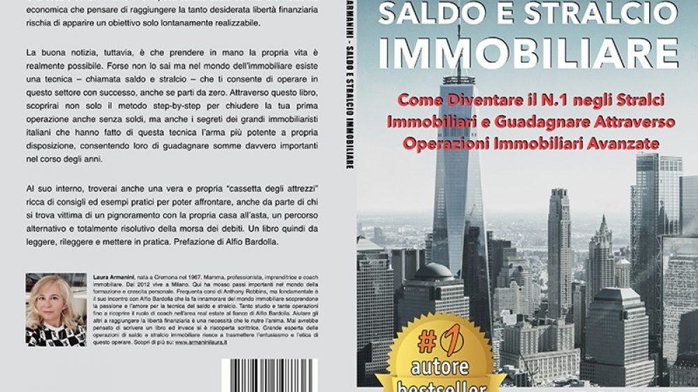 """Laura Armanini: Bestseller """"Saldo E Stralcio Immobiliare"""" edito da Bruno Editore"""