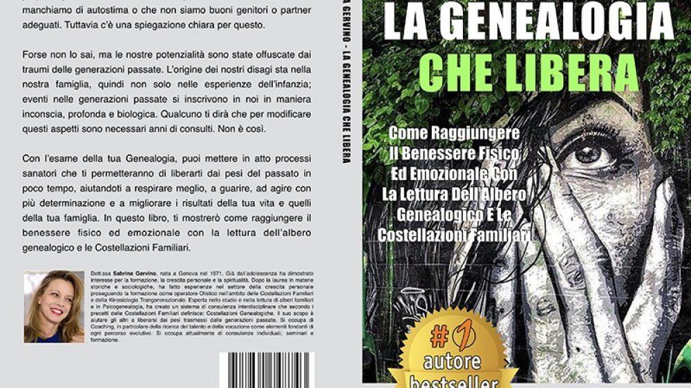 """Sabrina Gervino: Bestseller """"La Genealogia Che Libera"""" edito da Bruno Editore"""