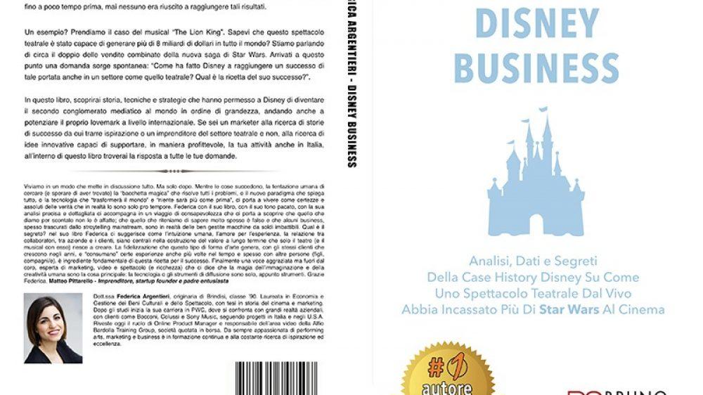"""Federica Argentieri: il """"Disney Business"""" come ispirazione imprenditoriale"""