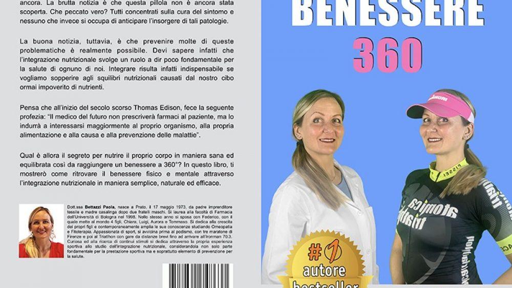 """Paola Bettazzi: Bestseller """"Benessere 360"""" edito da Bruno Editore"""