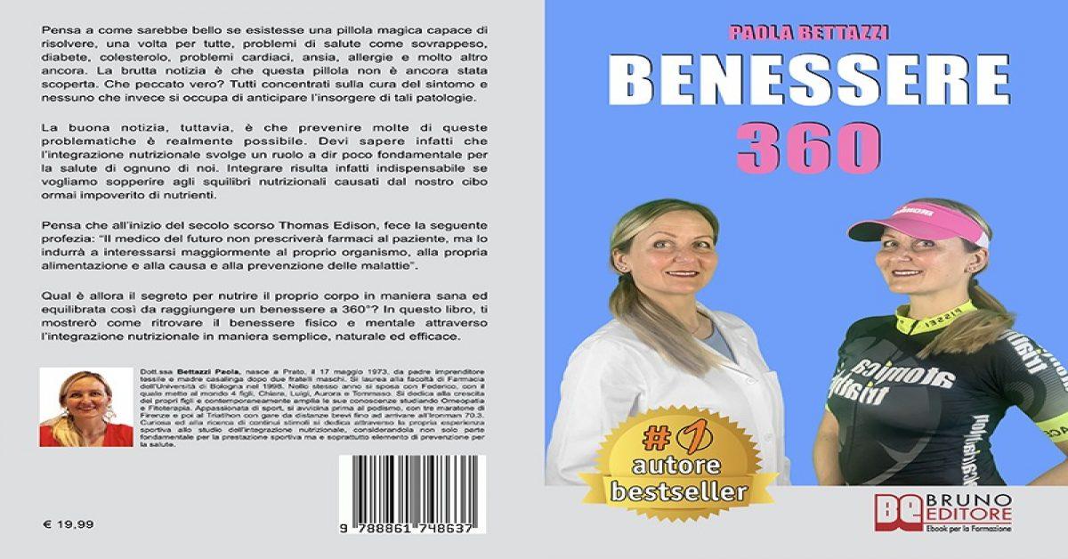 Paola Bettazzi Bestseller Benessere 360 Edito Da Bruno Editore Marketing Formativo