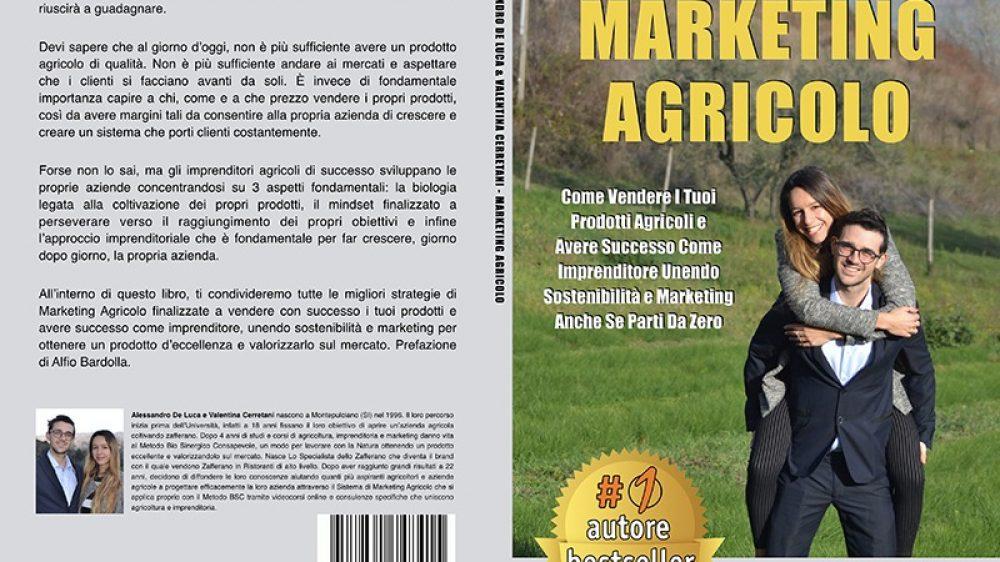 """Alessandro De Luca e Valentina Cerretani: Bestseller """"Marketing Agricolo"""" edito da Bruno Editore"""