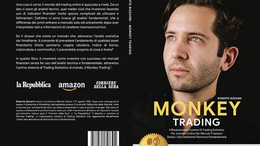 """Roberto Bizzarri: Bestseller """"Monkey Trading"""" edito da Bruno Editore"""