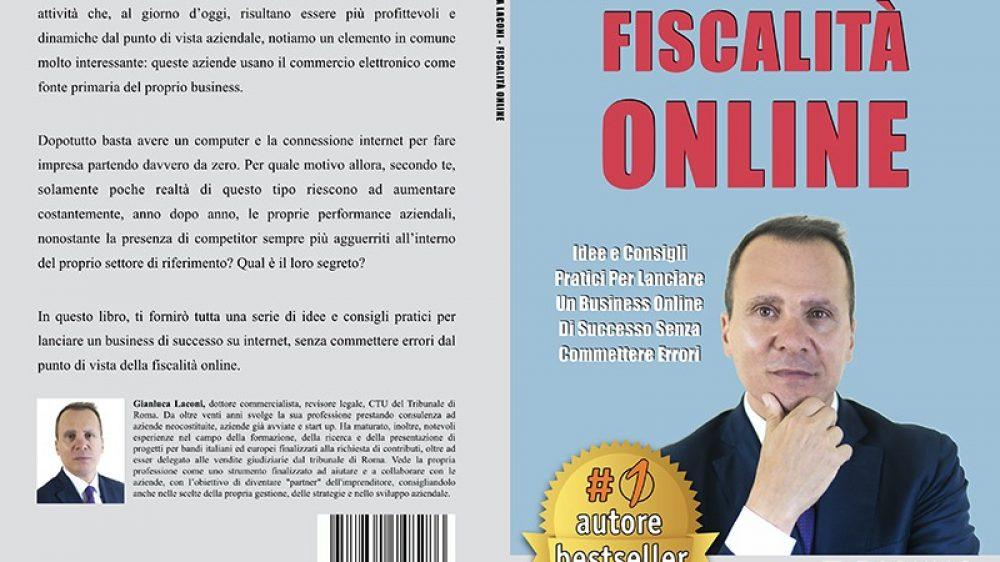 """Gianluca Laconi: Bestseller """"Fiscalità Online"""" edito da Bruno Editore"""