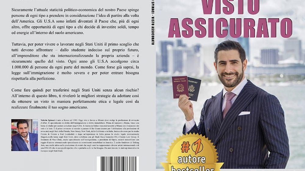 """Valerio Spinaci: Bestseller """"Visto Assicurato"""" edito da Bruno Editore"""