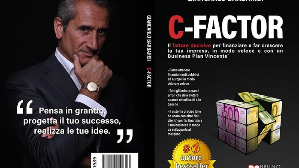 "Giancarlo Barbarisi: Bestseller ""C-Factor"" edito da Bruno Editore"