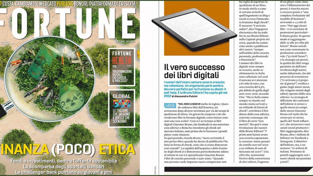 [Fortune] Giacomo Bruno: Il vero successo dei libri digitali