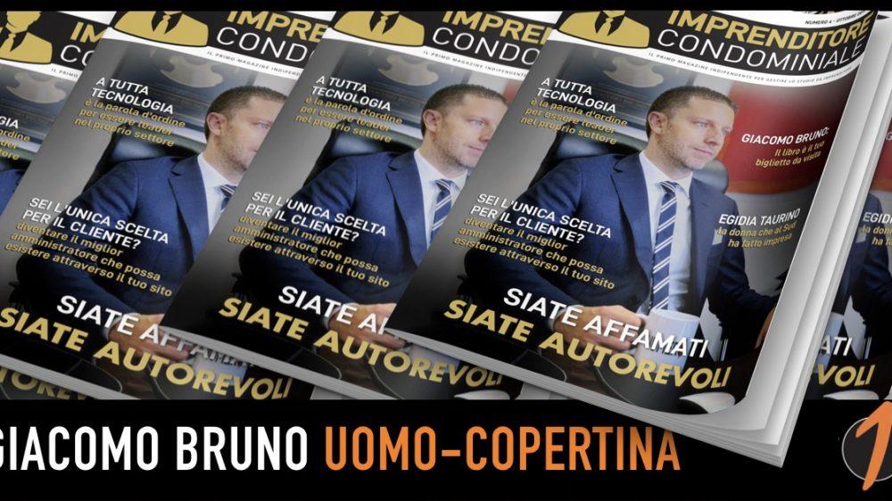 Imprenditore Condominiale: Giacomo Bruno Uomo Copertina